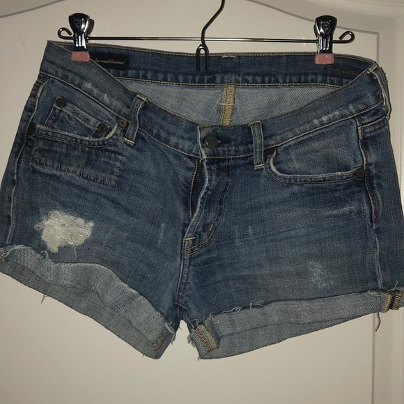 Pants - Citizens of humanity cut off shorts. Size 28